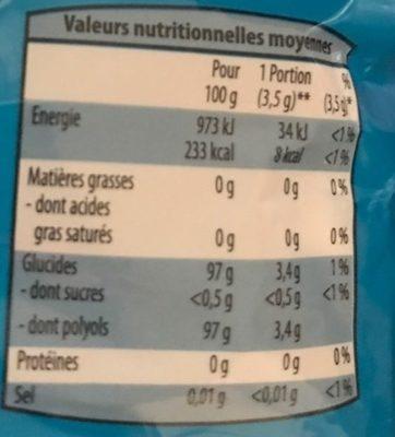 Thon en morceaux sauce piquante - Informations nutritionnelles - fr