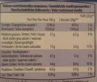 Go-Cacao - Nutrition facts