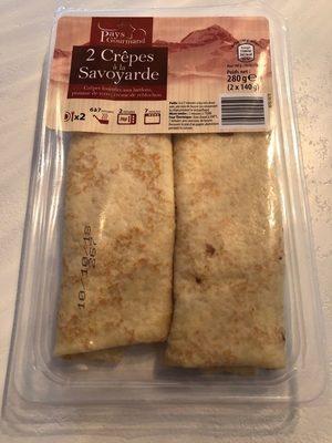 Crêpes a la savoyarde - Product - fr