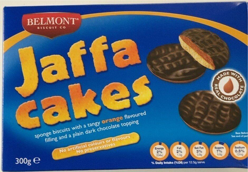 Jaffa cakes - Product - en
