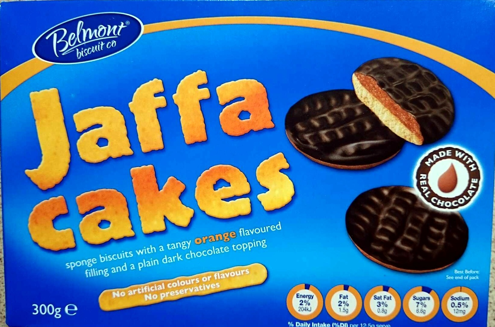 Jaffa Can Biscuit Or Cake