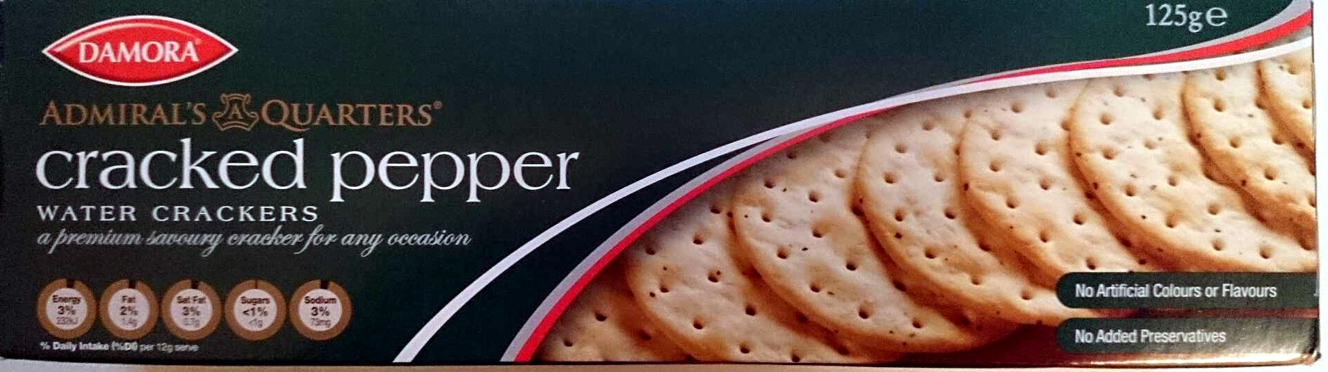 Cracked Pepper Water Crackers - Product - en