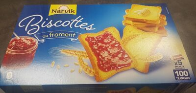 Biscotte 100 tranches au froment - Product - fr
