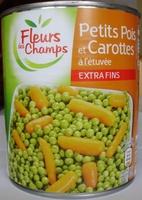 Petits Pois et Carottes à l'étuvée, Extra Fins - Product - fr
