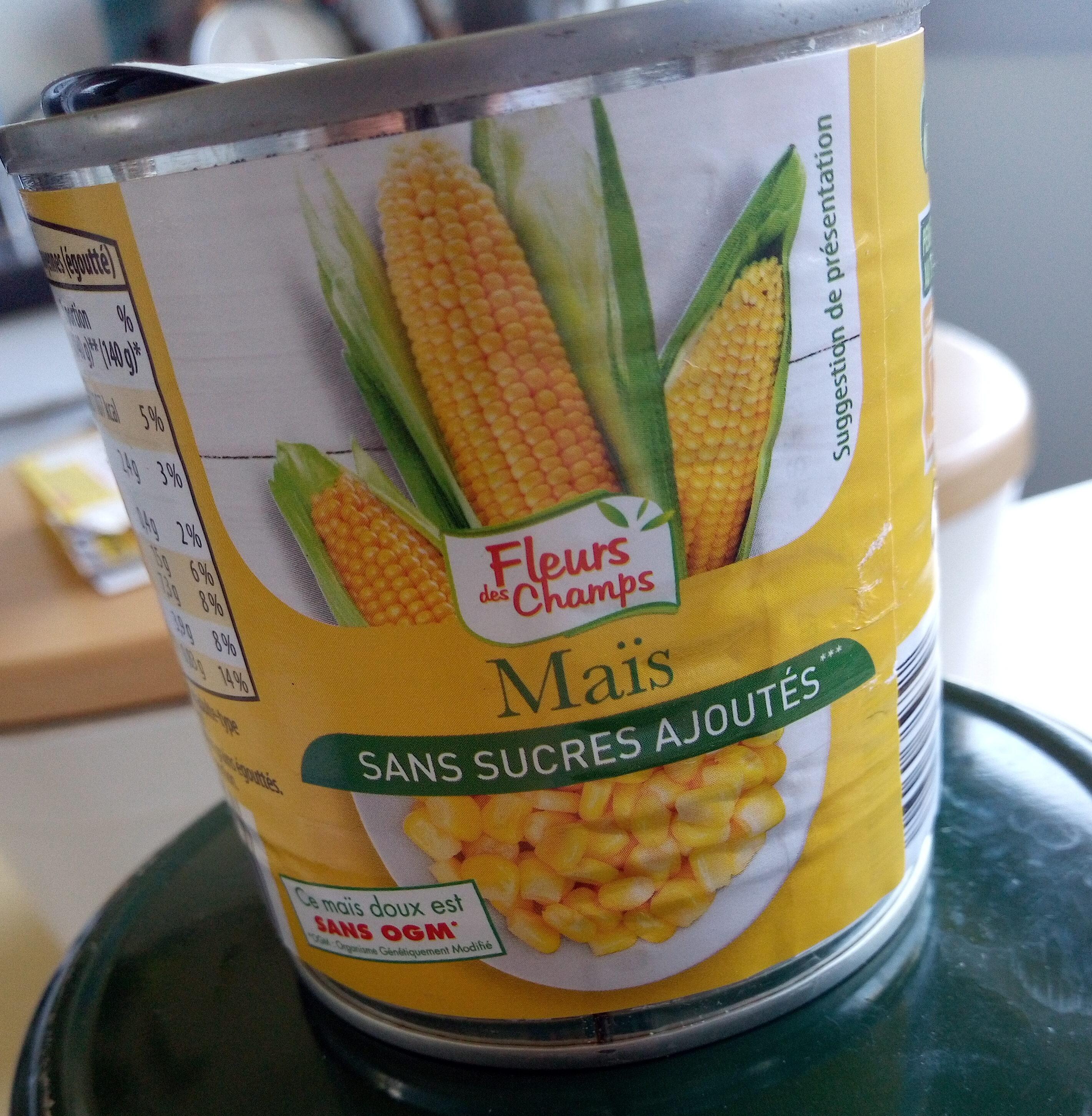 Maïs sans sucres ajoutés - Product - fr