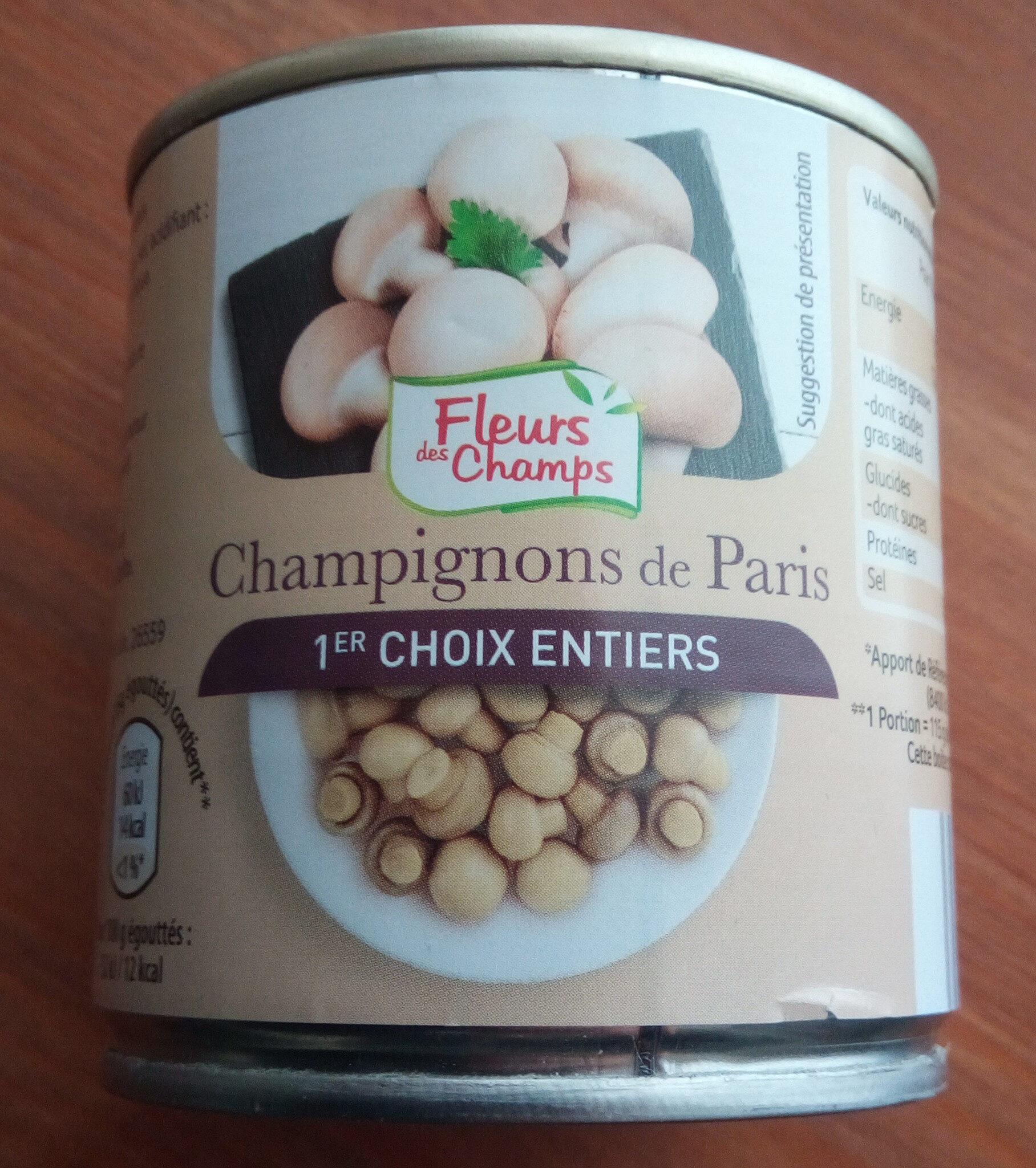 Champignons de Paris - Prodotto - fr