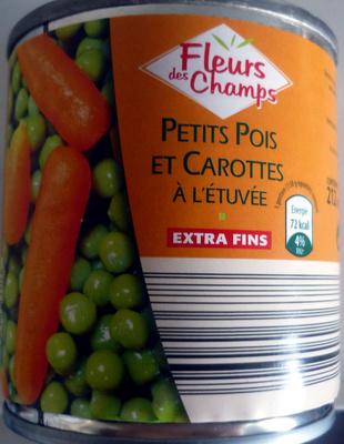 Petit pois et carottes - Produit - fr