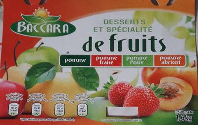 Desserts Et Spécialité De Fruits - Produit - fr