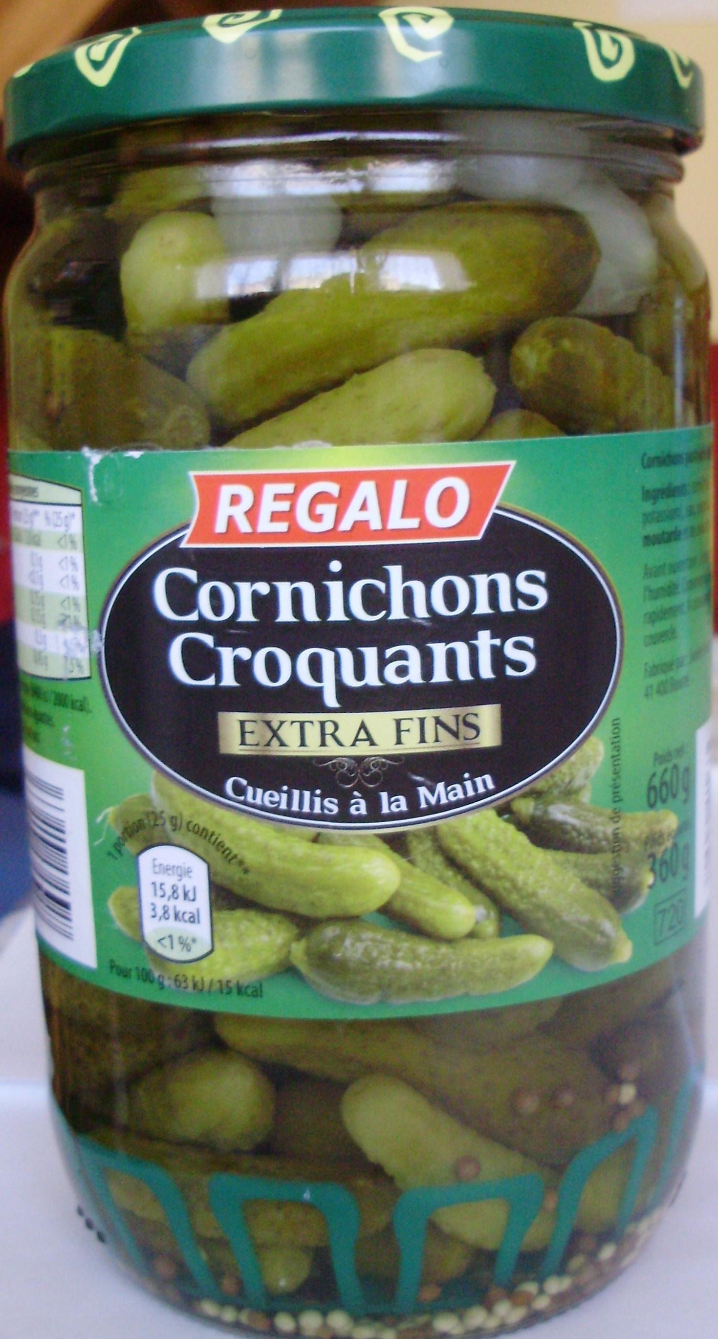 Cornichons Croquants (Extra Fins) - Produit - fr