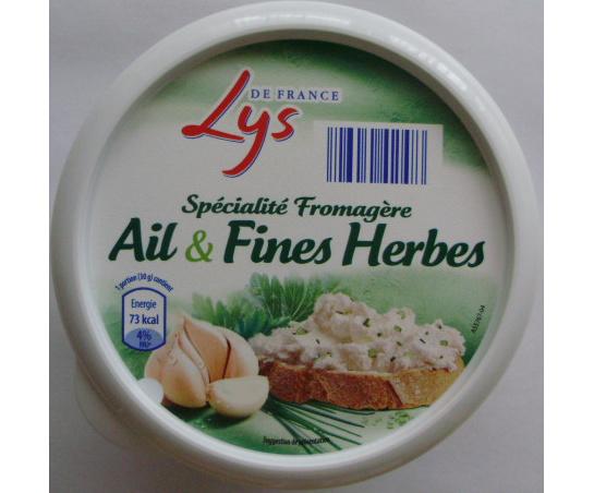 Spécialité Fromagère Ail & Fines Herbes (22,5 % MG) - Produit