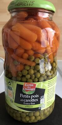 Petits pois extra-fin et carottes à l'étuvée - Produit - fr