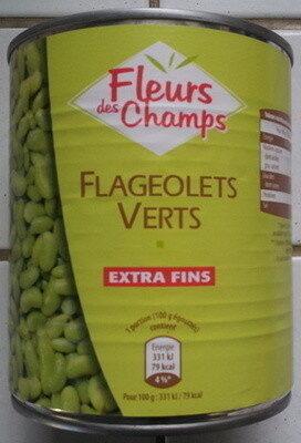 Flageolets Verts Extra Fins Fleurs Des Champs 530 g - Produit - fr