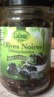 Olives noires dénoyautées - Produit