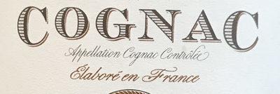 Cognac - Ingrédients
