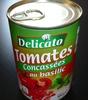 Tomates concassées au basilic - Produit