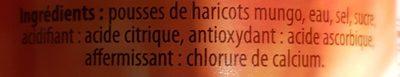 Haricots mungo - Ingrédients - fr