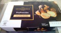 Profiteroles à la Crème Pâtissière et Sauce au Chocolat - Product - fr