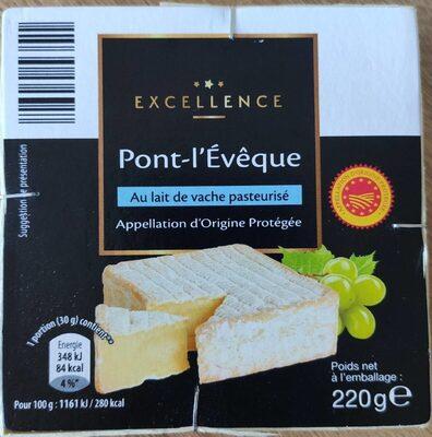 Pont-l'Évêque - Informations nutritionnelles - fr