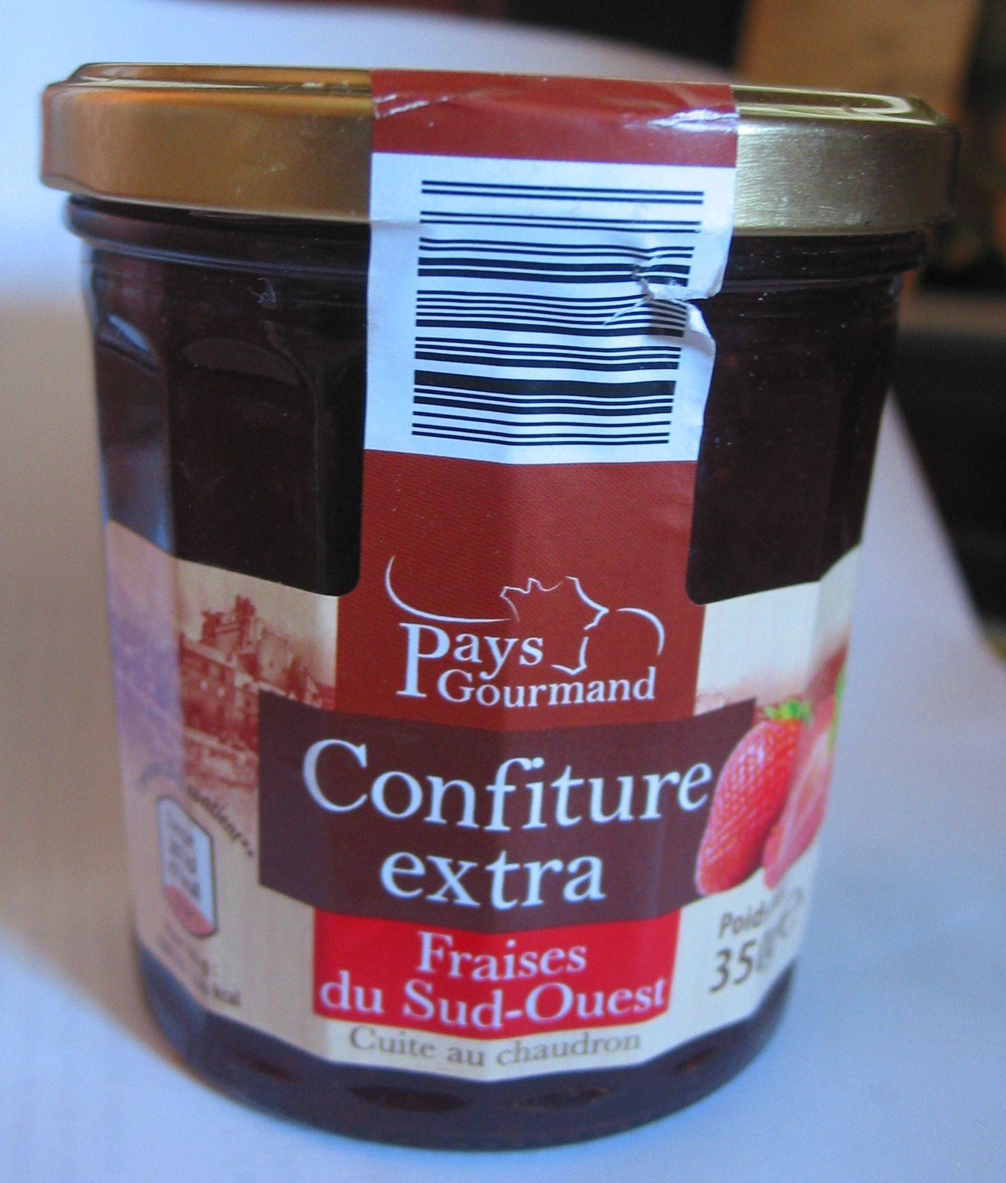 Confiture extra fraises du Sud-Ouest - Product - fr