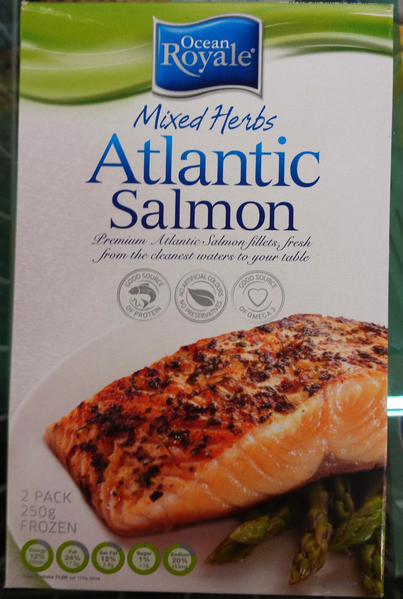 Mixed Herbs Atlantic Salmon - Product - en
