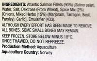 Mixed Herbs Atlantic Salmon - Ingredients - en