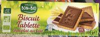 Biscuit Tablette chocolat au lait - Produit - fr
