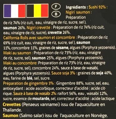 Sushi - Ingredients