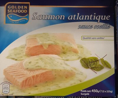Saumon atlantique sauce oseille, Surgelé - Product - fr