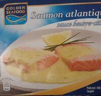 Saumon Atlantique sauce beurre citron - Product - fr