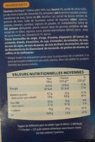 Saumon Atlantique sauce beurre citron - Voedingswaarden - fr