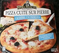 Pizza cuite sur pierre 4 fromages - Product - en