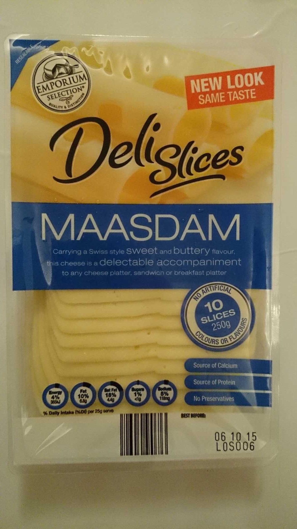 Deli Slices Maasam - Product