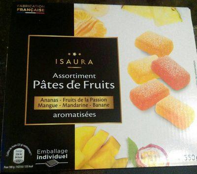 Assortiment pâtes de fruits - Product
