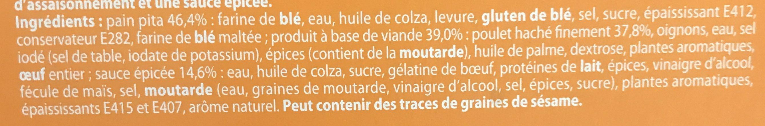 Dés de fromage - Ingrédients - fr