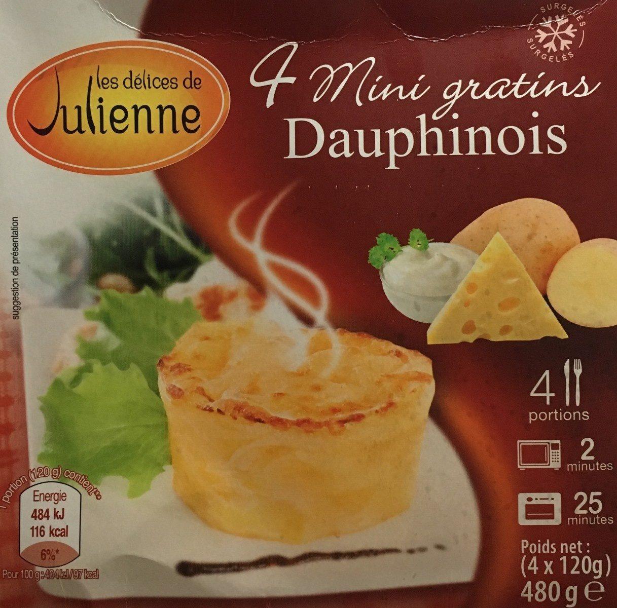 4 mini gratins aux 3 fleurettes - Produkt - fr