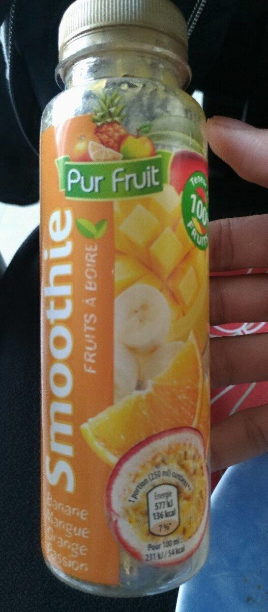 Smoothie Fruima banane fraise - Produit - fr