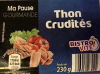 Ma pause gourmande, Thon crudités - Product - fr