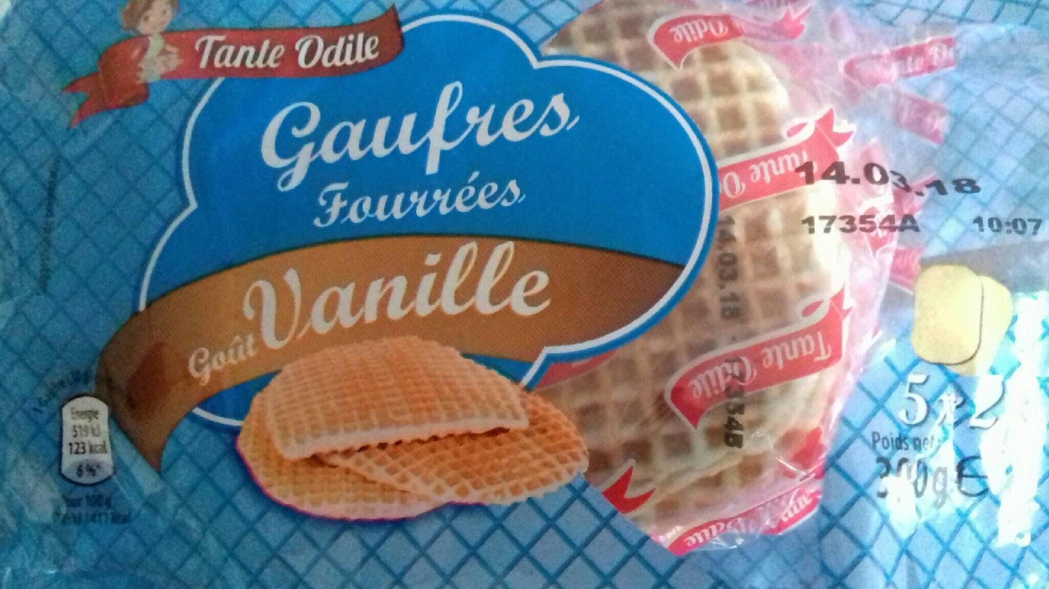 Gaufres Fourrées à la Vanille - Product - fr