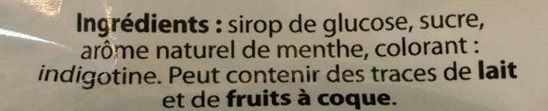Menthe fraîche - Ingrédients