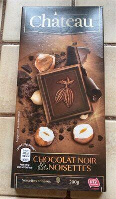 Chocolat noir et noisettes - Produit - fr