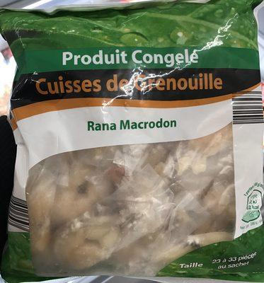 Cuisses de Grenouille Rana Macrodon - Produit - fr