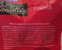 Paella Royal - Ingrédients - fr
