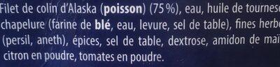 Poisson a la bordelaise - Ingredients - fr