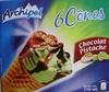 6 Cônes Chocolat Pistache - Product