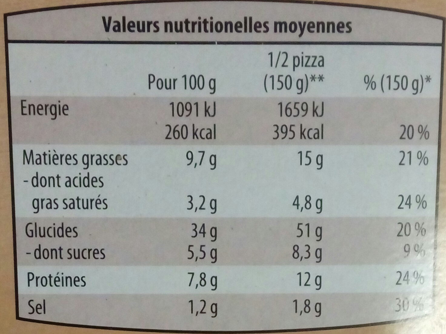 3 Pizzas Margherita - Product - fr