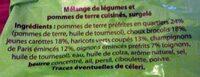 Mélange de légumes - Ingrédients - fr