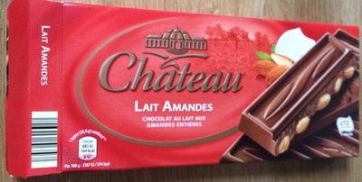 Chocolat Lait Amandes - Product - fr
