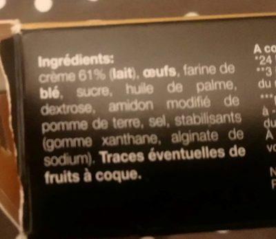 Petit choux à la crème environ 18 pièces - Ingredienti - fr