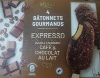 Expresso double enrobage café & chocolat au lait - Product - en