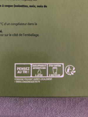 Expresso double enrobage café & chocolat au lait - Recyclinginstructies en / of verpakkingsinformatie - en